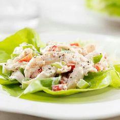 Lettuce wrap tuna salad