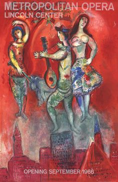 2 Assorted Marc Chagall Official Magic Flute & Carmen Lithographs #FreedomOfArt Join us, SUBMIT your Arts and start your Arts Store https://playthemove.com/SignUp