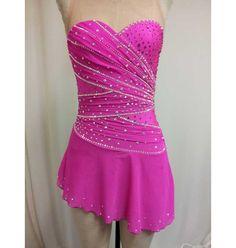 Del Arbour D102 (n32) Beaded Skating Dress - 6 Colors For Figure Skating | Buy Online
