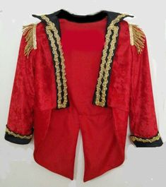 Ring Master Jacket  Circus Leader Coat  Photo by HandMadeByNeva