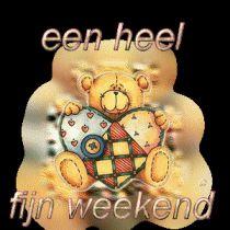 Een heel fijn weekend