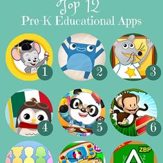 Top 12 Pre-K Educational Apps Best Apps For Preschoolers, Learning Apps For Toddlers, Educational Apps For Kids, Abc Mouse, Apps For Teachers, Teaching Phonics, Vocabulary Games, Education College, Kids And Parenting