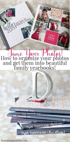 Want to create beautiful family yearbooks in no time at all?  This blog series from http://BecomingMartha.com will guide you through every step!