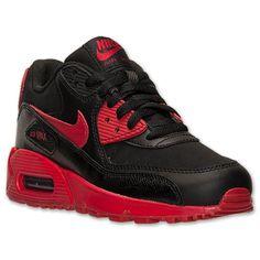 official photos 21ee9 6e575 Boys Grade School Nike Air Max 90 Running Shoes  Finish Line  Black