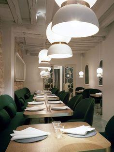 'Le Sergent Recruteur' Restaurant by Jaime Hayon // Paris, France. #covetlounge @covetlounge