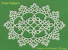 free pattern tatted doily