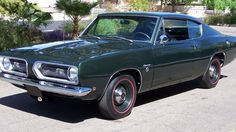 1968 Plymouth Barracuda Formula S Fastback - 1