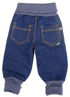 Sewing baggy jeans for little robbers - # for .- Sewing baggy jeans for little robbers – # for a little # - Sewing Pants, Sewing Clothes, Doll Clothes, Baby Outfits, Toddler Outfits, Kids Outfits, Baby Boy Fashion, Fashion Kids, Fashion Clothes