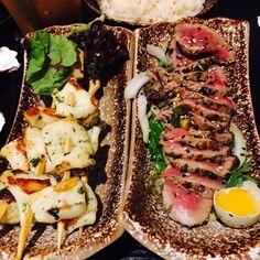 #foodporn #japanesefood #umisango #lorne #lovelorne #beeftataki #calamari by umisangolorne http://ift.tt/1IIGiLS