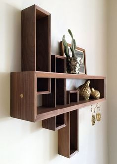 Entryway Organizer by Brass and Bark --- seen on: Interior Design Idea - What To Include When Creating The Ultimate Entryway // Catch-alls -- A nice dish for your keys, a wall mounted ledge, or a simple catch-all cubby give you a convenient place to put your daily essentials at the end of the day, so you know exactly where they are when you're all ready to head out later.