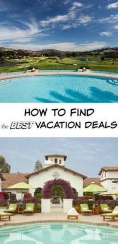 How to Find the Best Vacation Deals