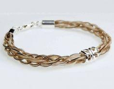 45 Elegant & Breathtaking Horse Hair Bracelets ... Solace-horse-hair-bracelet-butterfly-bead └▶ └▶ http://www.pouted.com/?p=33473