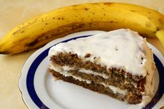 BANNANA CREAM CHEESE CAKE