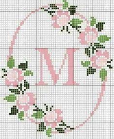 「nome rosa maria em ponto de cruz pinterest」の画像検索結果