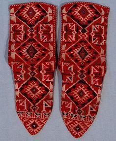 Мъжки чорапи, Преспанско / Man's socks, Prespa regino