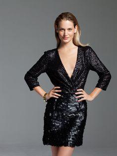 Stretch Sequin Dress 12/2012 #127 – Sewing Patterns | BurdaStyle.com