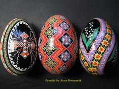 goose pysanky by Arsen Romanyuk