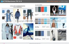 UP// Color Forecast First Look FW15-16/ incl. Active-Sportswear
