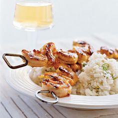 Curry-Mango Shrimp