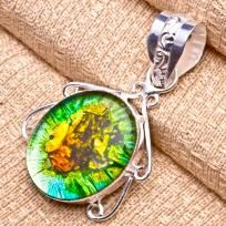 Must Have Dichroic Glass Pendant #5784