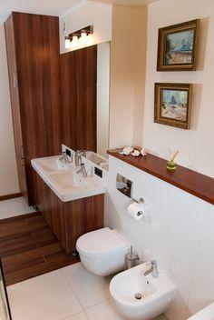 www.ynox.pl Double Vanity, Mirror, Interior Design, Bathroom, Furniture, Home Decor, Design Interiors, Bath Room, Homemade Home Decor