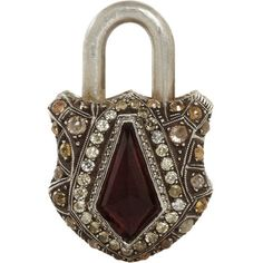 Sevan Bicakci Tourmaline & Diamond Large Padlock at Barneys.com