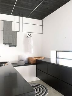A round up of some of my favourite modern laundry rooms. Plus ideas for how to update yours on a budget