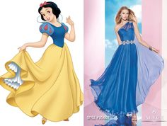 Snow White prom dress