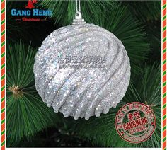 Christmas decorated luxury 8 cm silver bubble ball the high grade ornaments-in Christmas Decoration Supplies from Home  Garden on Aliexpress.com $15.50