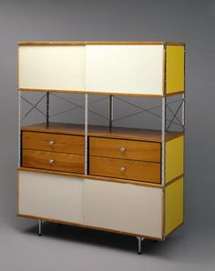 """""""ESU"""" modular storage unit (Eames Storage Unit) 
