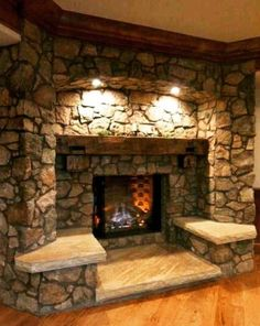 This is a fireplace