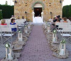 Στολισμός εκκλησίας γάμου εξωτερικός - Fiorellino