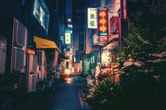 Magical Night Photos Of Tokyo's Streets By Masashi Wakui Look Straight Out Of Miyazaki Films (New Photos) Landscape Photography Tips, Urban Photography, Night Photography, Landscape Photographers, Street Photography, Photography Basics, Scenic Photography, Aerial Photography, Landscape Photos