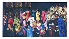 Praising the Lord Poster Print by Hulis Mavruk (38 x 22), Unframed Print