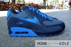 Nike Air Max 90 GS – Midnight Navy – Soar – Denim