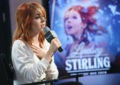 NEW YORK, NY - JUNE 16: Musician Lindsey Stirling speaks at AOL BUILD Speaker Series: Lindsey Stirling at AOL Studios In New York on June 16, 2015 in New York City. (Photo by Monica Schipper/FilmMagic) No°2
