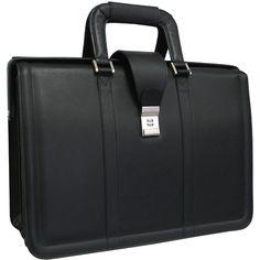 AmeriLeather APC Litigator Leather Executive Briefcase & Reviews | Wayfair