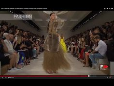 """I look at his shows and I can tell his designs are sort of modern Safari to Safari chic!  RALPH LAUREN Collection"""" Full Show Spring Summer 2015 New York by Fashion Channel - YouTube"""