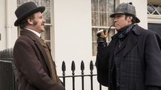 The Step Brothers grew up and became Victorian England's most acclaimed detective duo. Although, based on the first Holmes and Watson trailer, Will Ferrell and Tv Series Online, Movies Online, Film France, Detective Sherlock Holmes, Will Ferrell, Step Brothers, Movies To Watch Free, John Watson, Amanda Seyfried