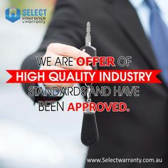At www.selectwarranty.com.au the warranty products that we are offer of high quality industry standards and have been approved as per the state and federal laws.