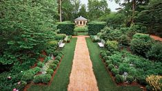Tour a Classical Virginia Garden - Southern Living - A Charlottesville, Virginia, master gardener and her architect husband transform their landscape with the time-honored tenets of classical garden design.