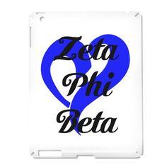 Zeta Phi Beta Heart iPad2 Case