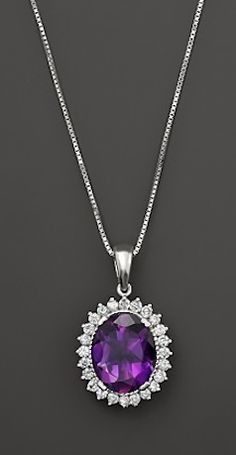 gorgeous diamond and amethyst necklace  http://rstyle.me/~2lqti