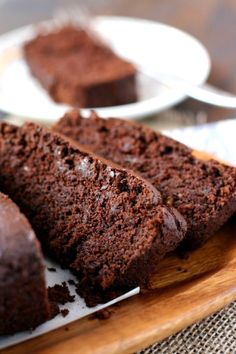 Vegan chocolate banana bread. Swapped gluten free flour for half wholemeal plain and half wholemeal self raising. Added handful of almonds (crushed in mortor&pesal). Added chocolate icing.