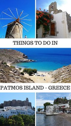 Things to do, what to eat and where to stay in Patmos Island Greece. Travel in Europe.