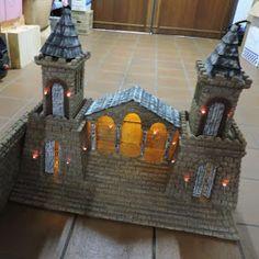 EL BELÉN DE CARLOS: BELÉN EN BENAVENTE 2017 - Como se hizo Nativity, Miniature, Projects To Try, Scene, Model, Ideas, Home Decor, Arch, Nativity Sets