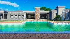 4 Bedroom House Plan - My Building Plans South Africa 4 Bedroom House Plans, My House Plans, My Building, Building Plans, Architect Fees, Construction Drawings, Marketing Budget, Open Plan, Windows And Doors