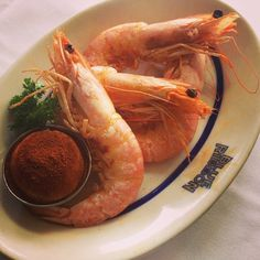 """New Orleans Shrimp #fruitsdemer #blueribbonbrooklyn #parkslope"""