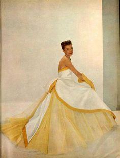Jean Desses Gown - 1951    L'Art Et La Mode No.2743