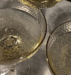 Champagne Glasses, Nye, Comme, Glitter, Beige, Personalized Items, Sparkling Wine Glasses, Ash Beige, Sequins